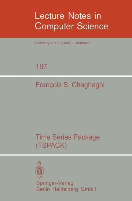 Abbildung von Chaghaghi   Time Series Package (TSPACK)   1985