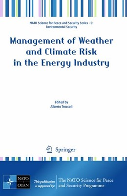 Abbildung von Troccoli | Management of Weather and Climate Risk in the Energy Industry | 1st Edition. | 2009
