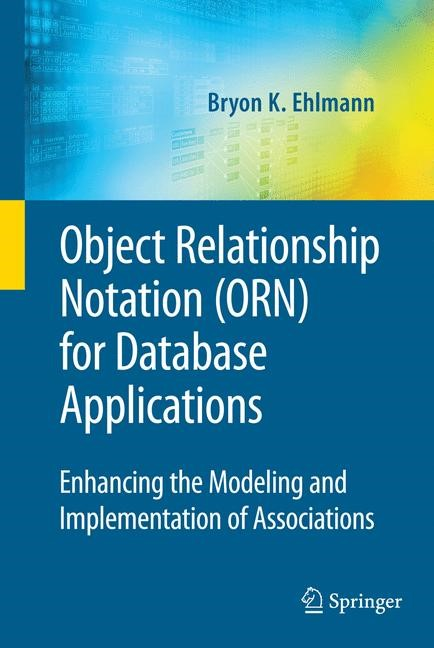 Abbildung von Ehlmann | Object Relationship Notation (ORN) for Database Applications | 2009