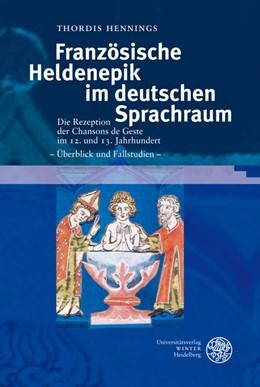 Abbildung von Hennings | Französische Heldenepik im deutschen Sprachraum | 2008