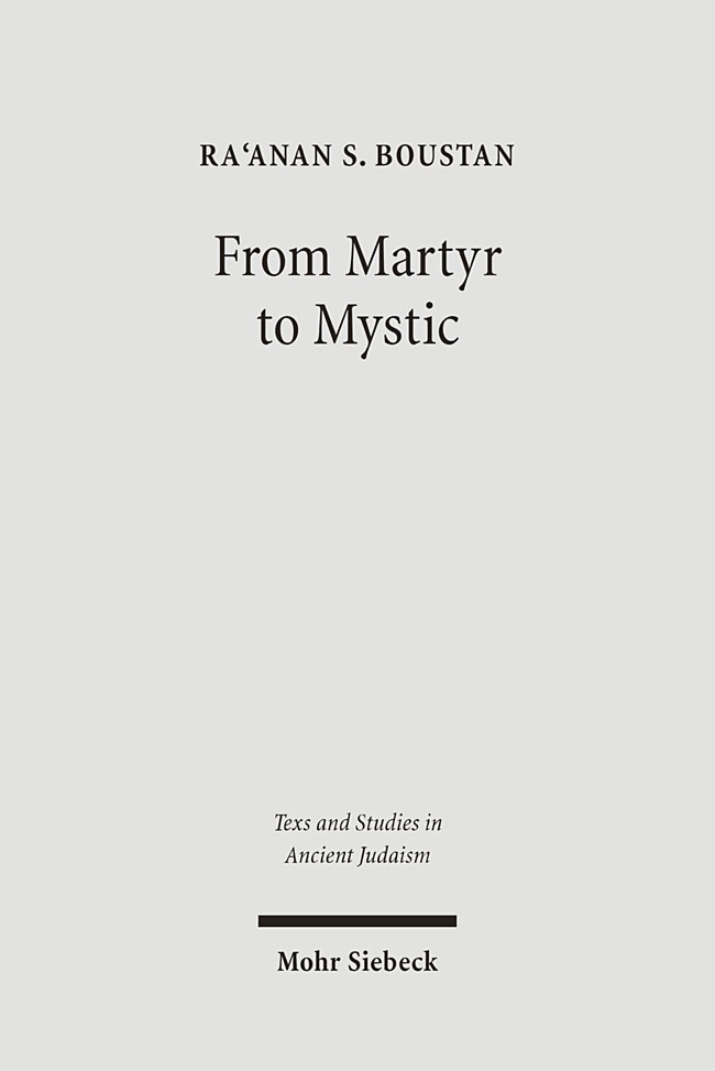 From Martyr to Mystic | Boustan, 2005 | Buch (Cover)