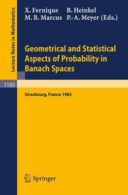 Abbildung von Fernique / Heinkel / Meyer / Marcus | Geometrical and Statistical Aspects of Probability in Banach Spaces | 1986 | Actes des Journees SMF de Calc... | 1193