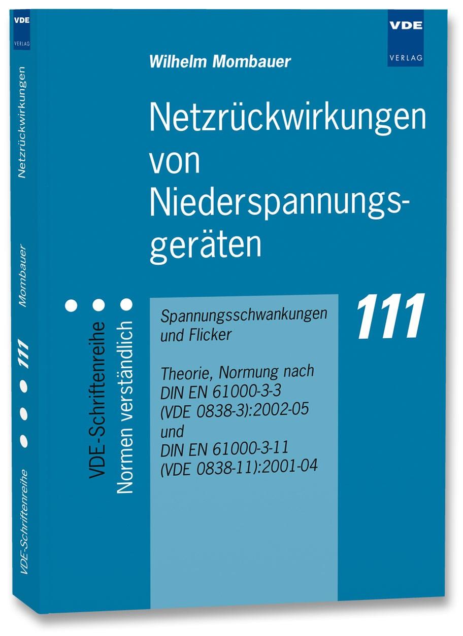 Abbildung von Mombauer | Netzrückwirkungen von Niederspannungsgeräten | Neuerscheinung | 2006