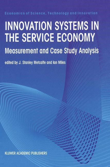 Abbildung von Metcalfe / Miles | Innovation Systems in the Service Economy | 2000