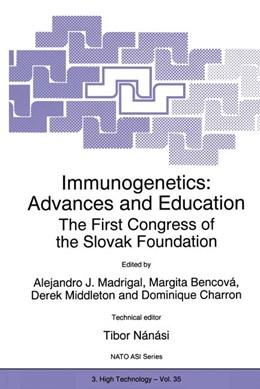 Abbildung von Madrigal / Bencová / Middleton / Charron | Immunogenetics: Advances and Education | 1997 | The First Congress of the Slov... | 35