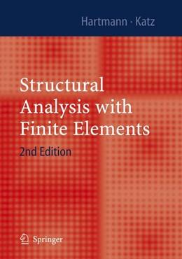 Abbildung von Hartmann / Katz | Structural Analysis with Finite Elements | 2nd ed. | 2007