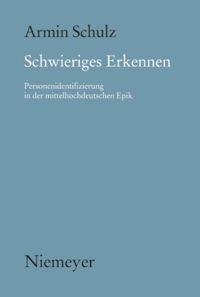 Abbildung von Schulz | Schwieriges Erkennen | 2008
