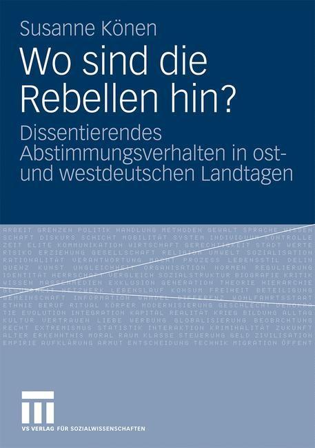 Abbildung von Könen | Wo sind die Rebellen hin? | 2009