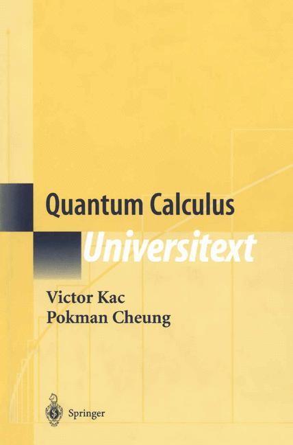 Abbildung von Kac / Cheung | Quantum Calculus | 2001