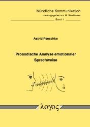 Abbildung von Paeschke | Prosodische Analyse emotionaler Sprechweise | 2003