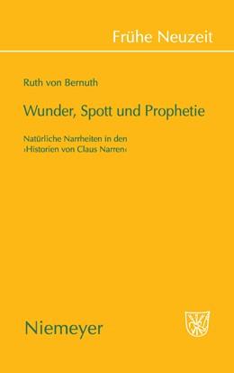 Abbildung von Bernuth | Wunder, Spott und Prophetie | 2009 | Natürliche Narrheit in den »Hi... | 133