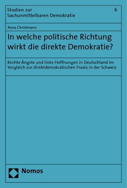 Abbildung von Christmann | In welche politische Richtung wirkt die direkte Demokratie? | 2009