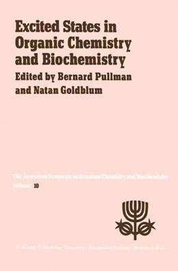 Abbildung von Pullman / Goldblum | Excited States in Organic Chemistry and Biochemistry | 1977