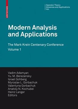 Abbildung von Adamyan / Berezansky / Gohberg / Gorbachuk / Kochubei / Langer / Popov   Modern Analysis and Applications   2009   The Mark Krein Centenary Confe...   190