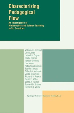 Abbildung von Schmidt | Characterizing Pedagogical Flow | 1996 | An Investigation of Mathematic...