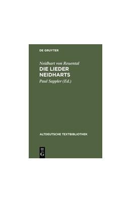 Abbildung von Neidhart von Reuental / Sappler | Die Lieder Neidharts | 5th rev. Edition | 1999 | Mit einem Melodieanhang | 44