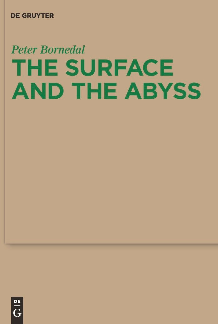 The Surface and the Abyss | Bornedal, 2010 | Buch (Cover)
