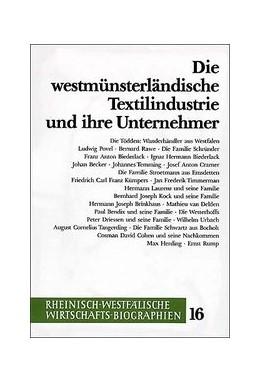 Abbildung von Teuteberg | Die westmünsterländische Textilindustrie und ihre Unternehmer | 1996 | 16