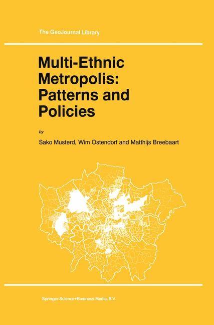 Abbildung von Musterd / Ostendorf / Breebaart | Multi-Ethnic Metropolis: Patterns and Policies | 1998
