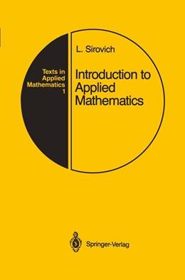 Abbildung von Sirovich | Introduction to Applied Mathematics | 1988 | 1