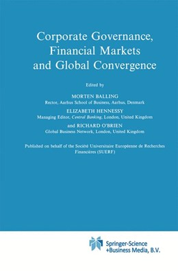 Abbildung von Balling / Hennessy / O'Brien | Corporate Governance, Financial Markets and Global Convergence | 1997 | 33