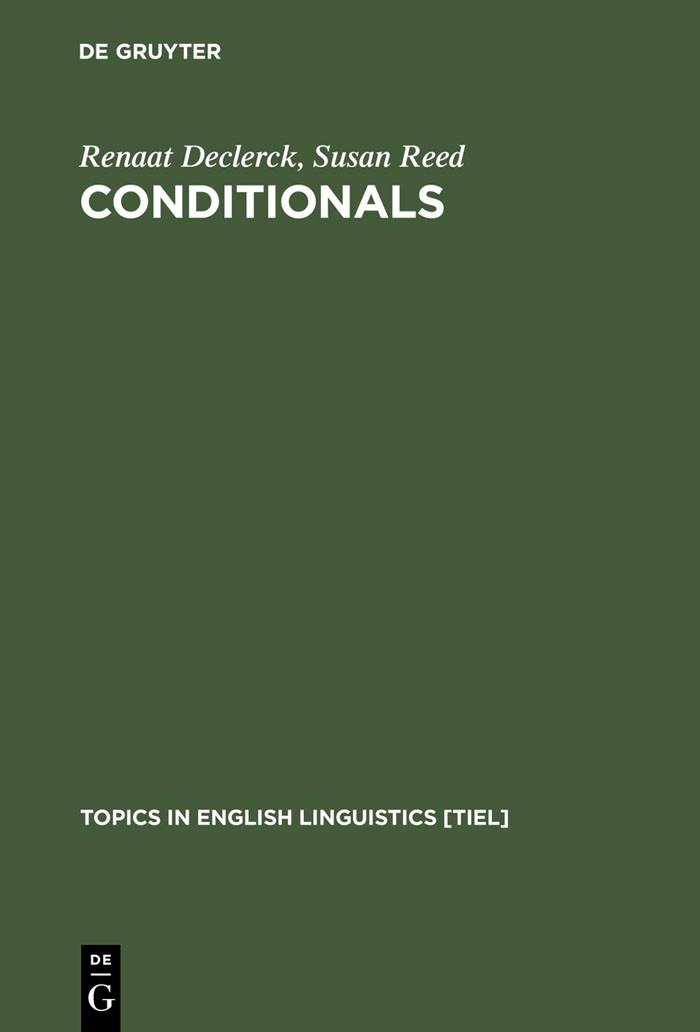 Abbildung von Declerck / Reed | Conditionals | Reprint 2012 | 2001