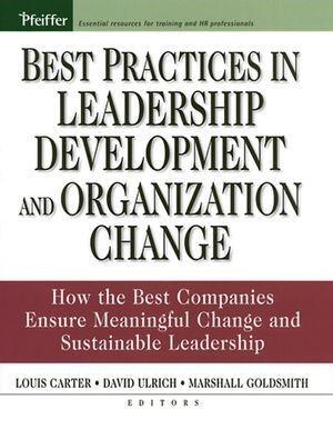 Abbildung von Ulrich / Goldsmith / Carter | Best Practices in Leadership Development and Organization Change | 1. Auflage | 2005