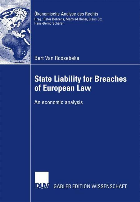 Abbildung von Van Roosebeke | State Liability for Breaches of European Law | 2007