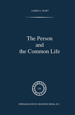 Abbildung von Hart | The Person and the Common Life | 1992 | Studies in a Husserlian Social... | 126