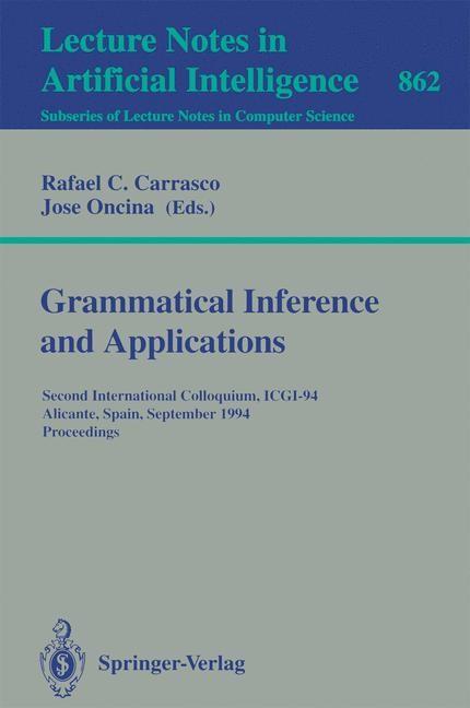 Abbildung von Carrasco / Oncina | Grammatical Inference and Applications | 1994