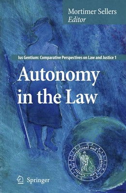 Abbildung von Sellers | Autonomy in the Law | 2007 | 1