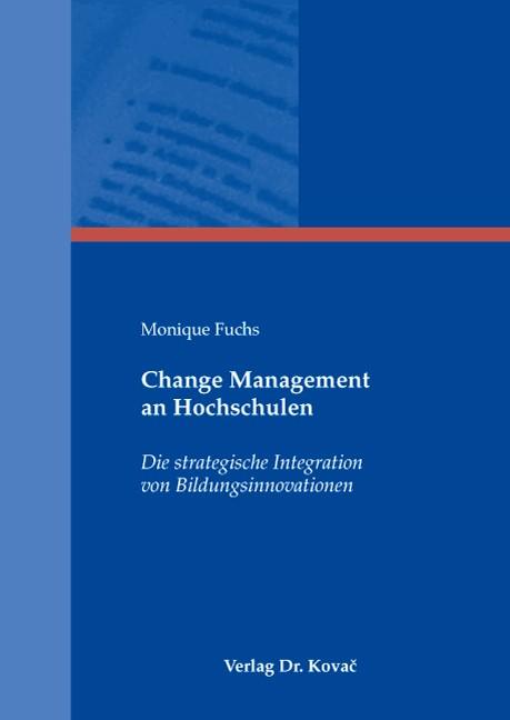 Abbildung von Fuchs   Change Management an Hochschulen   2007