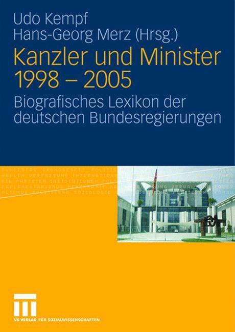 Abbildung von Kempf / Merz | Kanzler und Minister 1998 - 2005 | 2008
