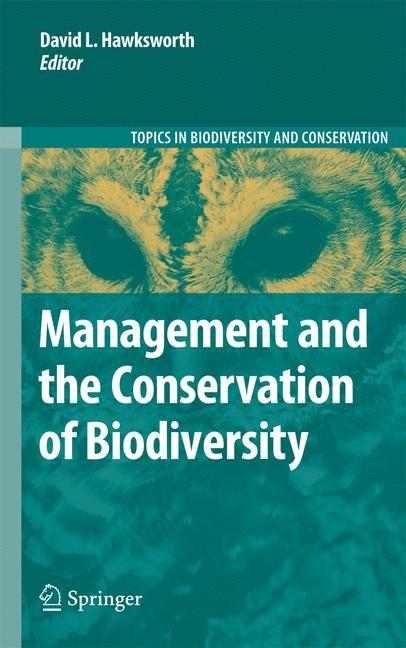 Abbildung von Hawksworth | Management and the Conservation of Biodiversity | 2009