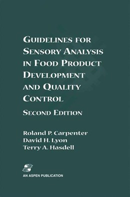 Abbildung von Carpenter / Lyon / Hasdell | Guidelines for Sensory Analysis in Food Product Development and Quality Control | 2nd edition | 2000
