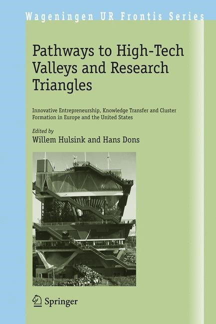 Abbildung von Hulsink / Dons | Pathways to High-Tech Valleys and Research Triangles | 2008
