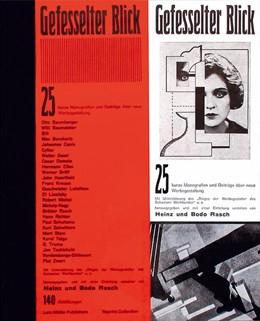Abbildung von Rasch | Gefesselter Blick | Reprint d. Ausgabe 1930 | 1999 | 25 Monografien und Beiträge üb...