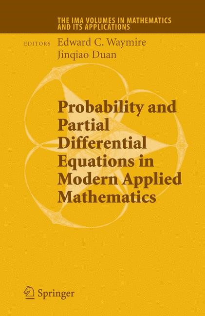 Abbildung von Waymire | Probability and Partial Differential Equations in Modern Applied Mathematics | 2005