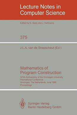 Abbildung von Snepscheut | Mathematics of Program Construction | 1989 | 375