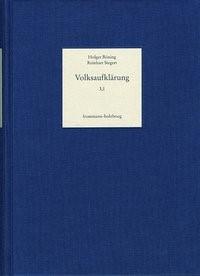 Abbildung von Böning | Volksaufklärung. Biobibliographisches Handbuch zur Popularisierung... / Band 3,1-4: Aufklärung im 19. Jahrhundert – »Überwindung« oder Diffusion? | 2015