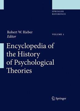 Abbildung von Rieber | Encyclopedia of the History of Psychological Theories | 2011