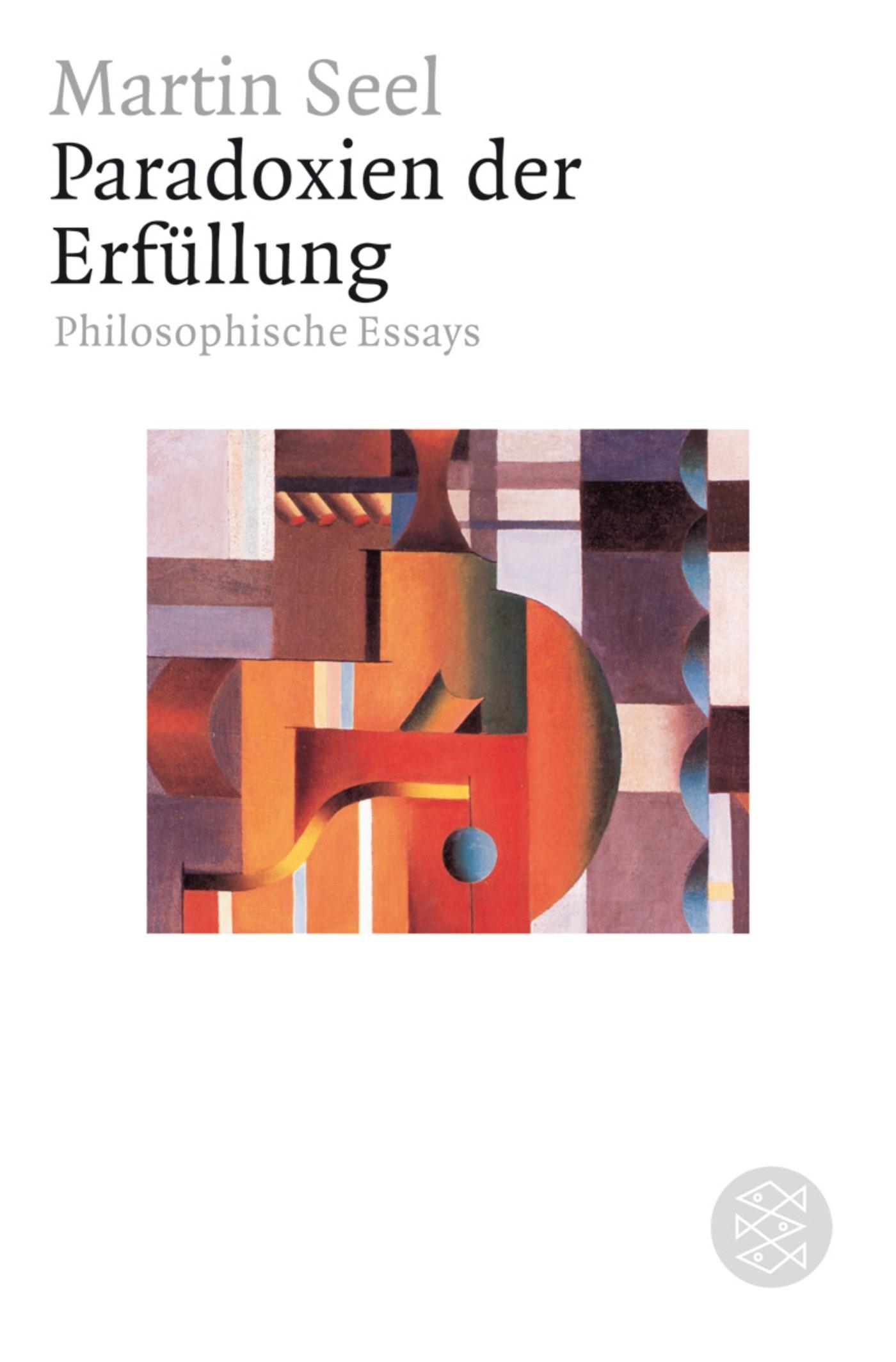 Abbildung von Seel   Paradoxien der Erfüllung   1. Auflage   2006