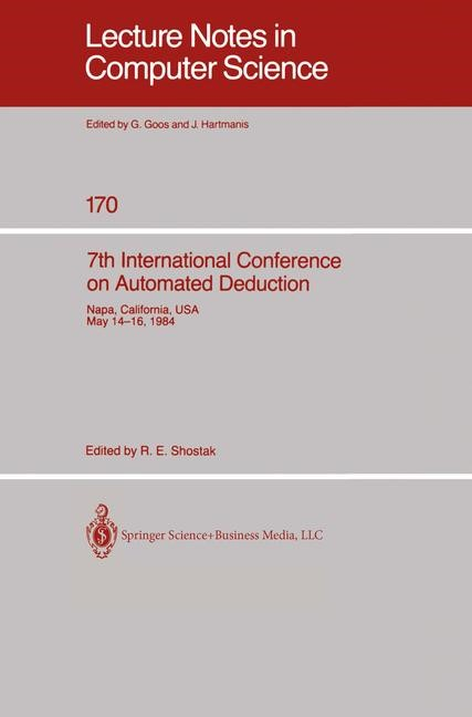 Abbildung von Shostak   7th International Conference on Automated Deduction   1984