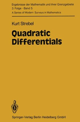 Abbildung von Strebel | Quadratic Differentials | 1984 | 5