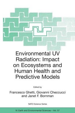 Abbildung von Ghetti / Checcucci / Bornman | Environmental UV Radiation: Impact on Ecosystems and Human Health and Predictive Models | 2006 | Proceedings of the NATO Advanc... | 57