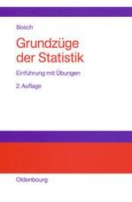 Grundzüge der Statistik | Bosch | 2., erg. Aufl. Reprint 2014, 1999 | Buch (Cover)