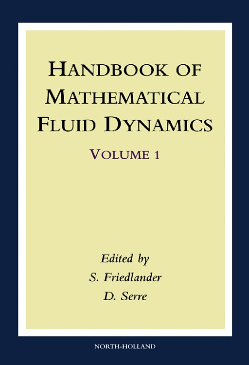 Abbildung von Friedlander / Serre | Handbook of Mathematical Fluid Dynamics | 2002