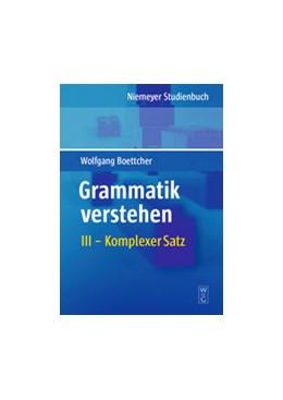 Abbildung von Boettcher | Komplexer Satz | 2009