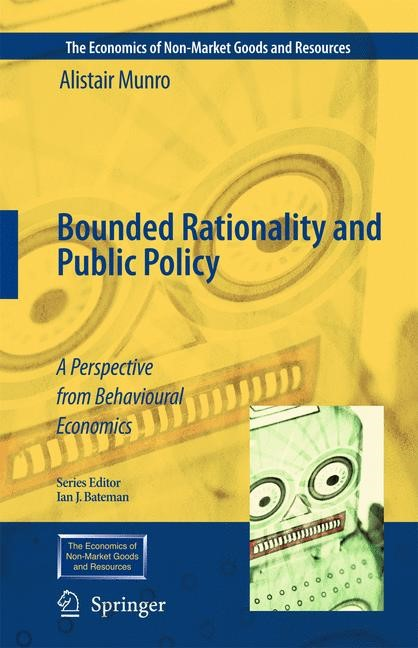 Abbildung von Munro | Bounded Rationality and Public Policy | 2009