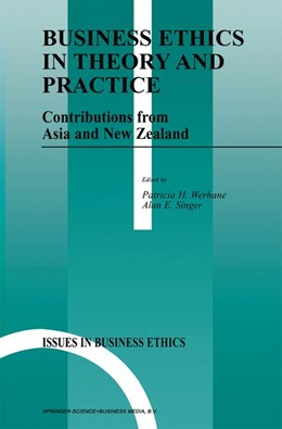 Abbildung von Werhane / Singer | Business Ethics in Theory and Practice | 1999 | Contributions from Asia and Ne... | 13